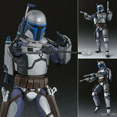 """6"""" S.H.Figuarts SHF Star Wars Jango Fett PVC Action Figure Collection New in Box"""