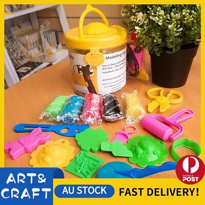 Air Dry Modeling Clay 14 Colour DIY Craft KIDS Gift Soft Clay Super Light -Y