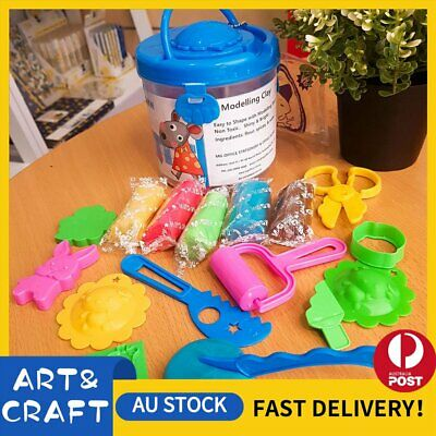 Air Dry Modeling Clay 14 Colour DIY Craft KIDS Gift Soft Clay Super Light -B