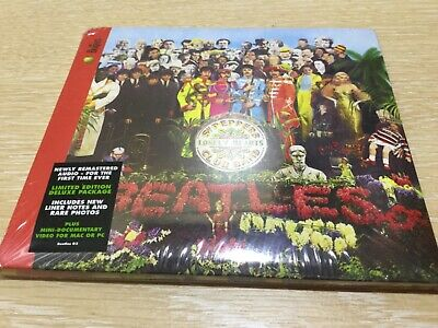 The Beatles Sgt Peppers Lonely Hearts Club Band CD New Sealed Deluxe Remastered