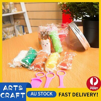 Air Dry Modeling Clay 12 Colour Pack DIY Craft Gift Soft Clay Super Light -12