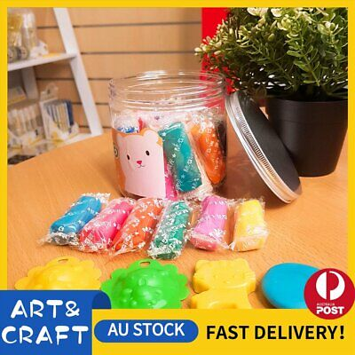 Air Dry Modeling Clay 12 Colour Pack DIY Craft Gift Soft Clay Super Light -24