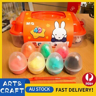 4D Air Dry Clay Modeling Clay 12 Colour Pack DIY Craft Gift Soft Super Light