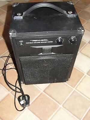 Realistic Mps-20 Portable Amplified Speaker System