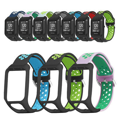 Ruban de silicone Bracelet bicolore For TomTom Spark Runner 3/2 Series Watch
