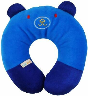 Children'S Neck Support Pillow, Soft And Plush, Blue 0-12 Months UK