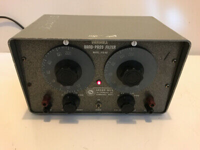 Krohn Hite Variable Band Pass Filter 310-Ab