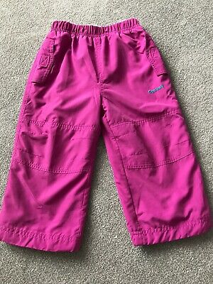 Hot Pink Reebok Trousers, For Age 2 , Sports Wear Cute, 99p Camping Autumn Wear