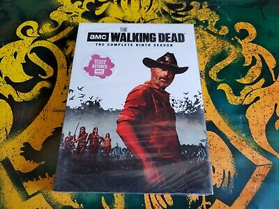 Walking Dead Season 9 Nine (DVD, 2019)