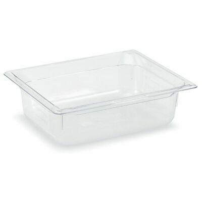 "Vollrath 8022410 Clear Half Size x 2.5"" D Low Temp Food Pan"