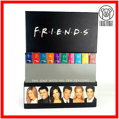 Friends Complete DVD Collection Box Set 1-10 The One With All Ten Seasons N9