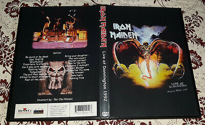 Iron Maiden - Donington Live 1992 DVD SPECIAL FAN EDITION