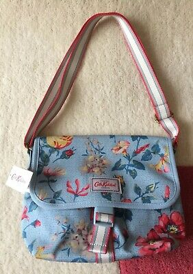 Cath Kidston Chalk Blue Pembroke Rose Cross Body Bag - Brand New with Tags