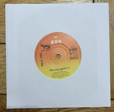 """Billy Joel- Tell Her About It- 7"""" Vinyl Record"""