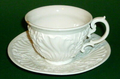 Old Meissen Magnificent Cup Coffee Cups Place Setting Porcelain Pageantry