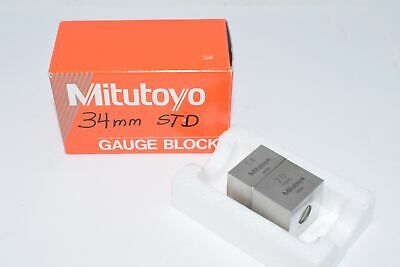 Mitutoyo 93050 89142 20mm 14mm Gauge Block Rectangular Gage