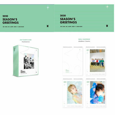 BTS 2020 SEASON'S GREETINGS All Package / Wall Calendar + PreOrder Mouse Pad