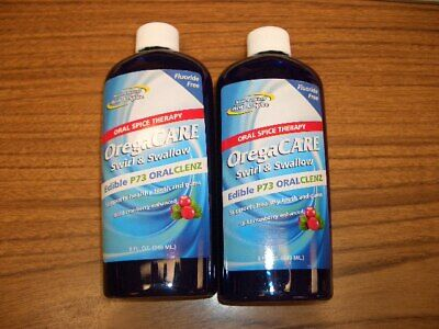 North American Herb & Spice OregaCARE Swirl & Swallow Oral Cleanser 2 Bottles