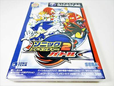 [ New ] Nintendo GameCube SONIC ADVENTURE 2 BATTLE Japan NTSC-J F/S GC Sega