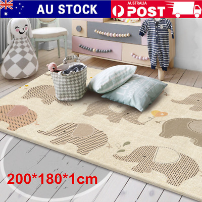 Non-Slip Baby Carpet Game Play Mat Foam Puzzle Pad Child Crawling Blanket 2*1.8m