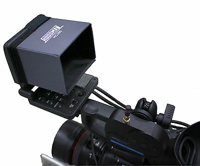 Hoodman HC300 LCD Screen Hood for Canon C300 & C500 EOS Video Camera Viewfinders