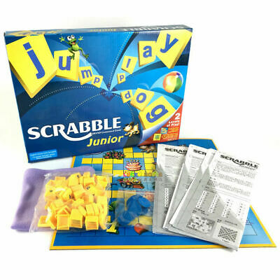 UK Junior Scrabble Game Family Board Game Kid Adult Educational Toy Party Game