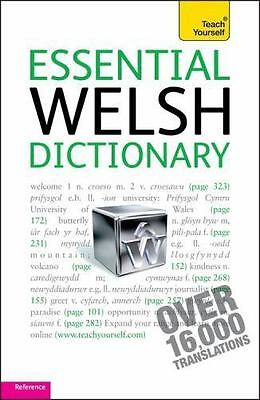 Essential Welsh Dictionary by Edwin C. Lewis (2010, Paperback)