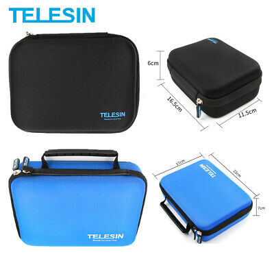 TELESIN Mini S M L Universal Storage Carry Bag Case For GoPro Hero 8 7 6 5 DJI