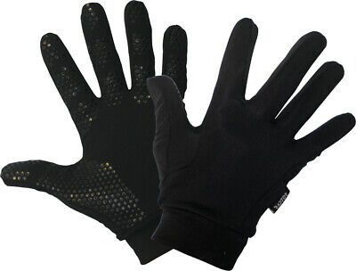 New Football/Soccer Outfield/Field Player Fleece Lined Grip Gloves Kids/Junior