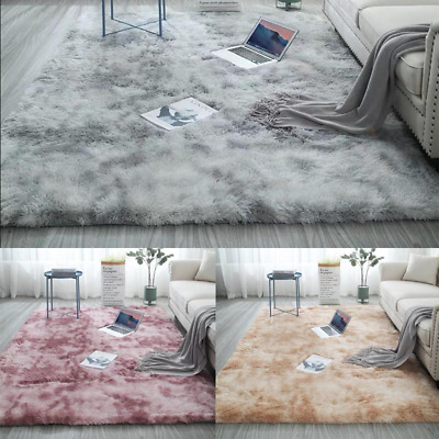 Soft Cosy Shaggy Rugs Fluffy Living Room Area Carpets Home Bedroom Floor Mat UK