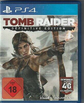 Tomb Raider: The Definitive Edition - SONY Play Station 4   FSK18