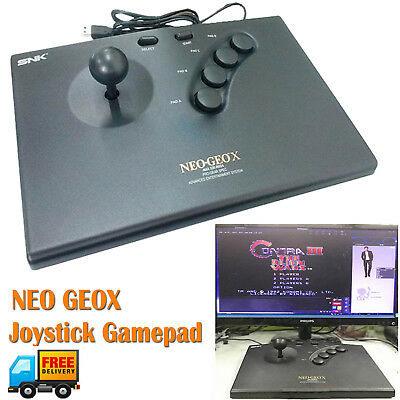 Arcade Game Controller Handheld Joystick Gamepad for NEO GEO X PC PS3 Console