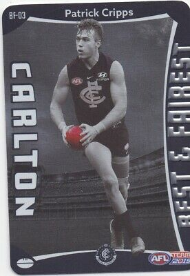 2019 Teamcoach Best & Fairest Cards Choose Your Card