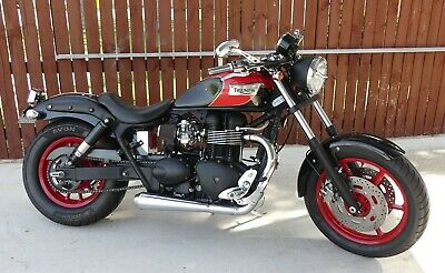 "2005 Triumph Speedmaster "" The Red Barron"""