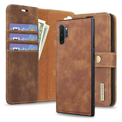 For Samsung Galaxy Note 9 10+ S10 S9 S8 Shockproof Flip Wallet Card Leather Case