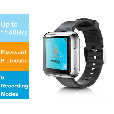Hnsat WR-19 16GB Sport Watch Voice Recorder with 6 Modes & Password Protection