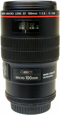 Canon 100mm f2.8 L IS USM EF Macro lens