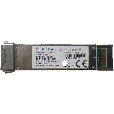 Finisar 10Gb 850nm XFP 10Gbase Optical Transceiver 0FP798 FTLX8511D3 DELL