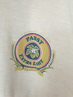 Vintage Pabst Extra Light Beer T-Shirt - Size Small
