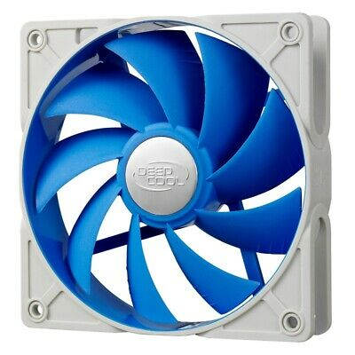 DeepCool Ultra Silent 120mm Ball Bearing Case Fan with Anti-Vibration Frame PWM