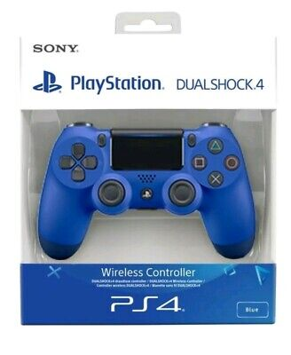 PS4 DualShock 4 Controller(Blue)BRAND NEW SEALED SONY-FREE UK POST playstation