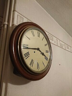 A Traditional Antique Station Wall Clock