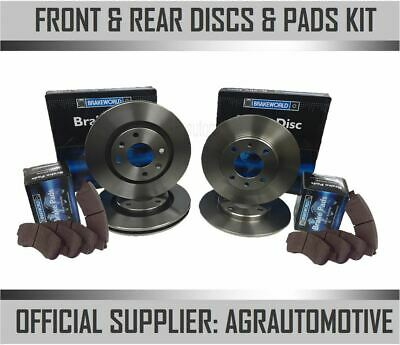 OEM SPEC FRONT DISCS AND PADS 312mm FOR SEAT ALHAMBRA 2.0 TD 140 BHP 2010