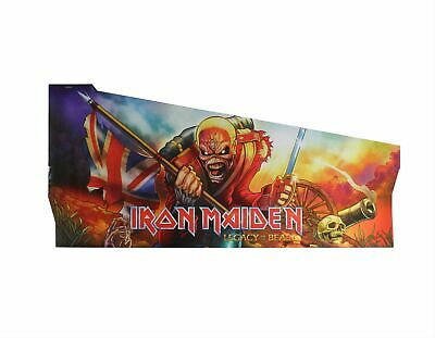 Stern Pinball Left Side Armor Red #535-0862-22