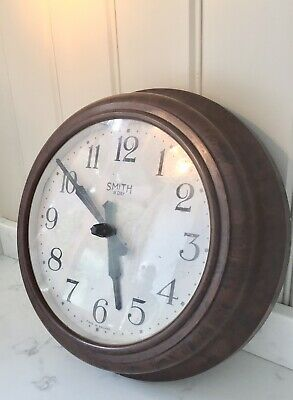 😬Bakelite Smiths 8 day wall clock vintage working order electric model