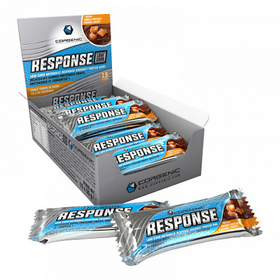 RESPONSE LOW CARB  boite de 15 White Chocolate Peanut CORGENIC