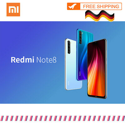 Xiaomi Redmi Note8 Smartphone 6.3in 3+32GB/4+64GB/4+128GB Octa Core 48.0MP Handy