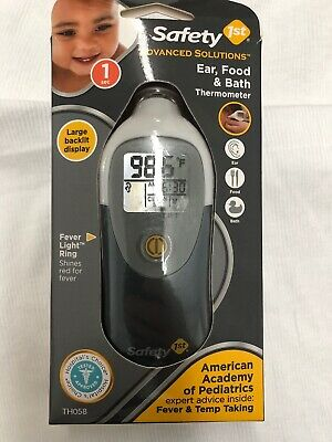 Safety 1st Advanced Solutions Ear, Food & Bath Thermometer