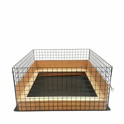Puppy Dog Whelping Box,Pen,Folding,Fence,Door,Gate,Play,Welping,Pig Rails,Cage
