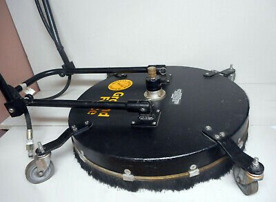 """Whisper Wash Ground Force Pressure Washer Flat Surface Cleaner 24"""" Rotary System"""
